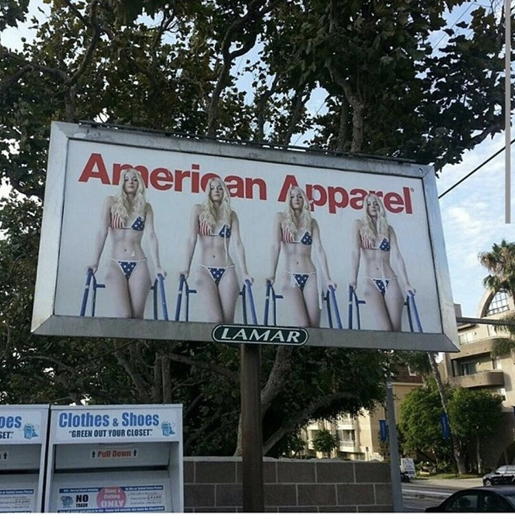 Charlotte Stokely American Apparel