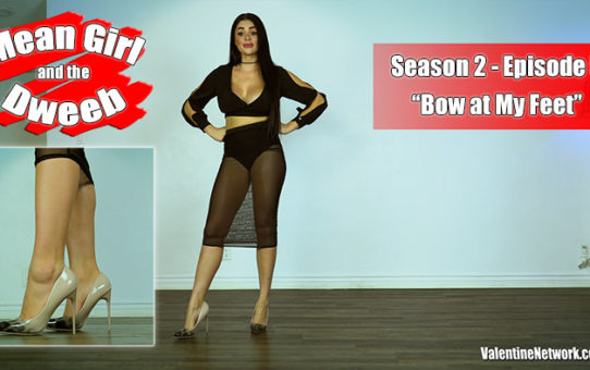 Bow At My Feet. Mean Girl and the Dweeb (season 2 episode 5)