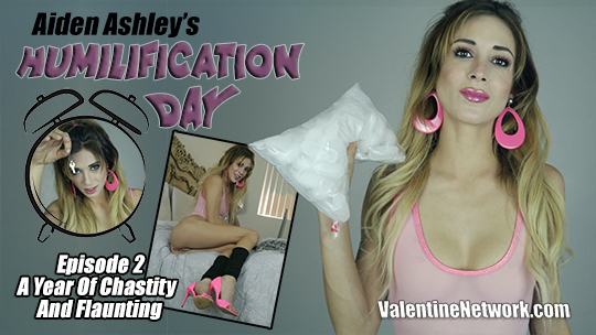 A Year Of Chastity And Flaunting (Humilification Day Episode 2)