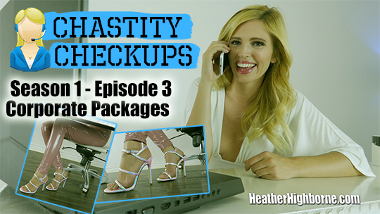 Corporate Packages (Episode 3 of Chastity Checkups)
